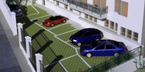 posto auto in condominio